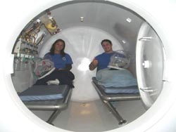 4 person multi place hyperbaric chamber